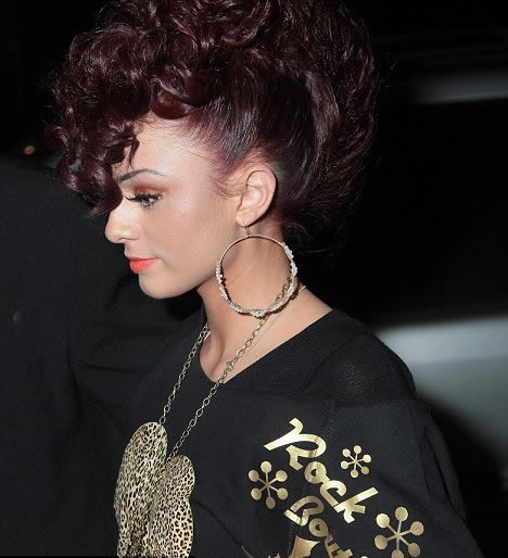 cher lloyd 2011 march. Cher Lloyd Steps Out In Rock