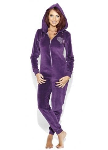 Amy Childs Onesie Amy Childs Purple Onesie Designer