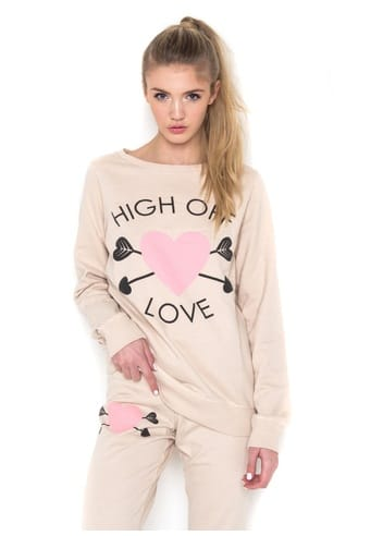 Delicious High Off Love Sweater