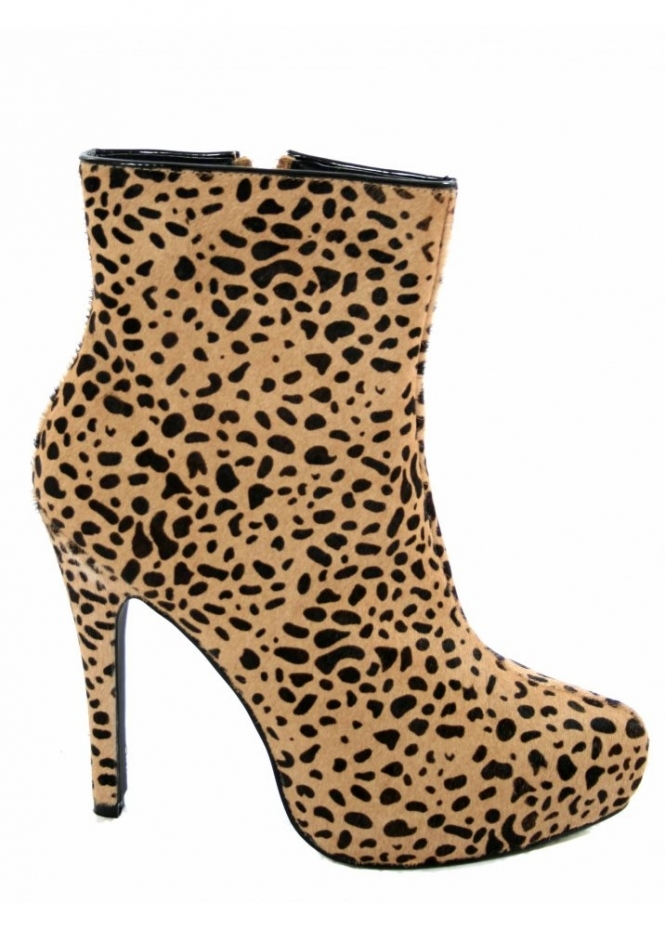 Supertrash | Shop Supertrash Boots | Leopard Ankle Boots