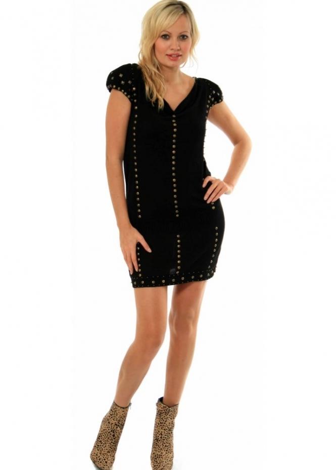 Supertrash Dress - Tainted Studded Jumper Style Dress