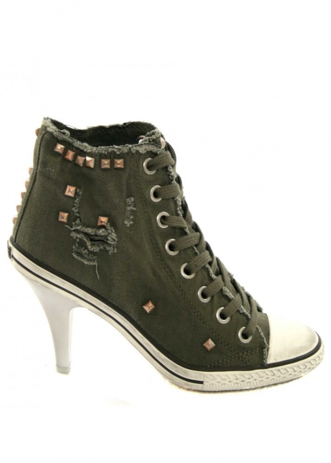 Ash Trainers | Ash Stone High Heeled Trainers | Ash Shoes