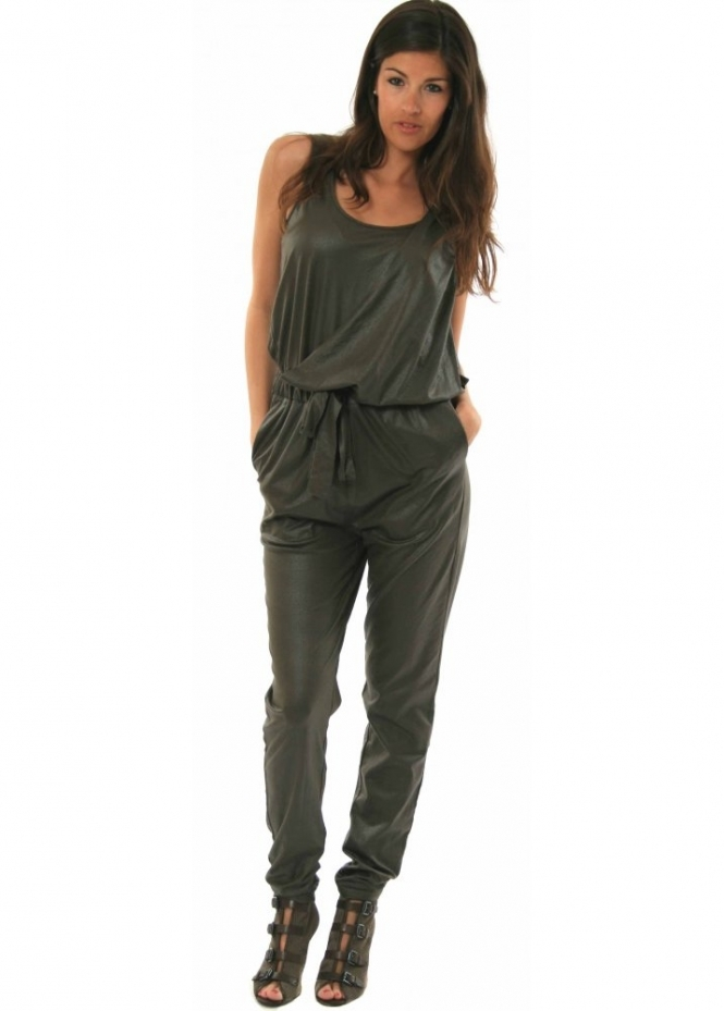 Supertrash Jumpsuit Winola Leather Look