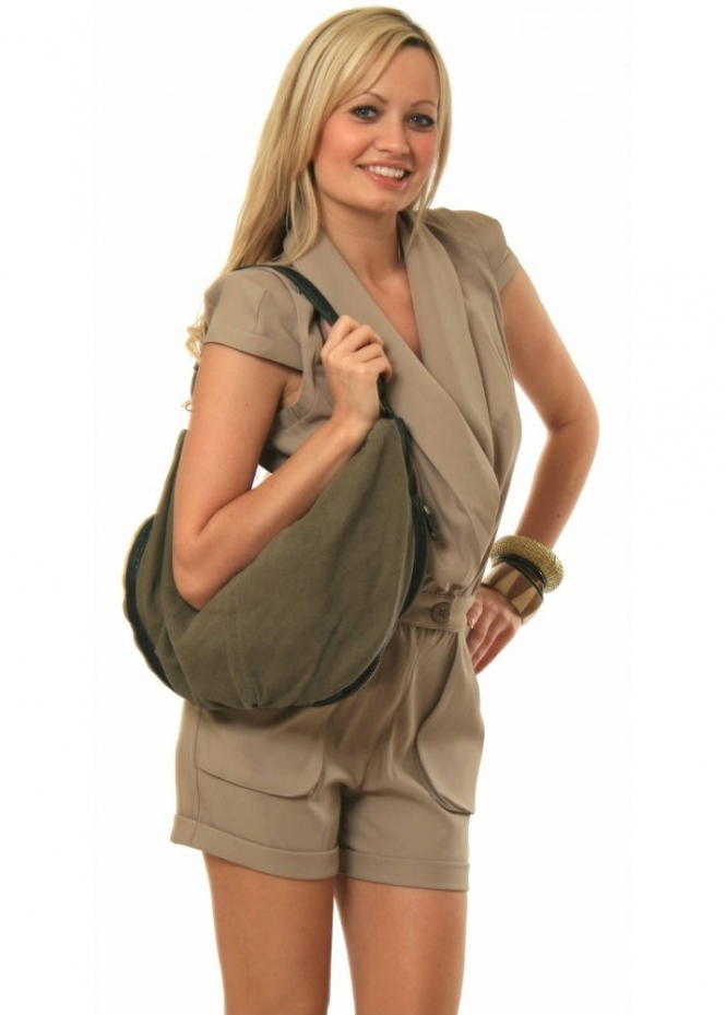 Ash Bag - Selma Military Canvas Shoulder Bag