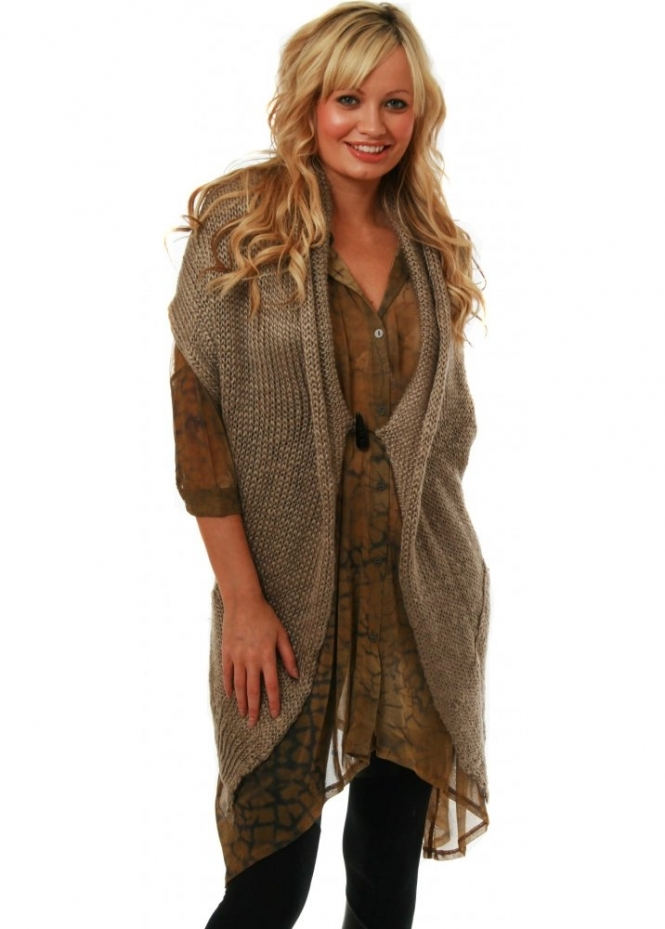 Gilet Copenhagen Asymmetric Wrap