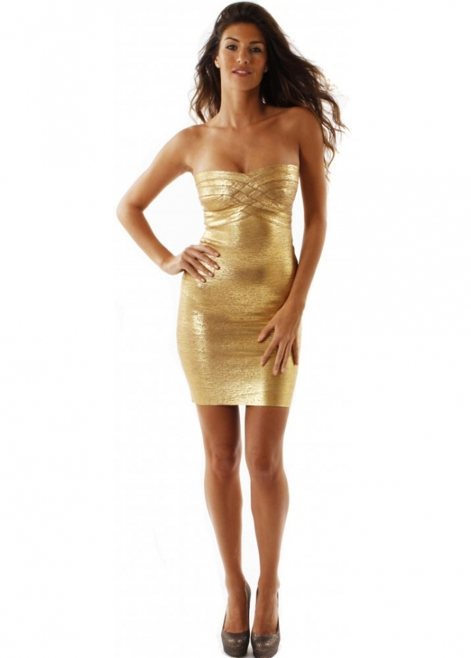 Gold For Sale >> Luxe Couture Gold Venus Dress | Luxe Couture Party Dresses ...