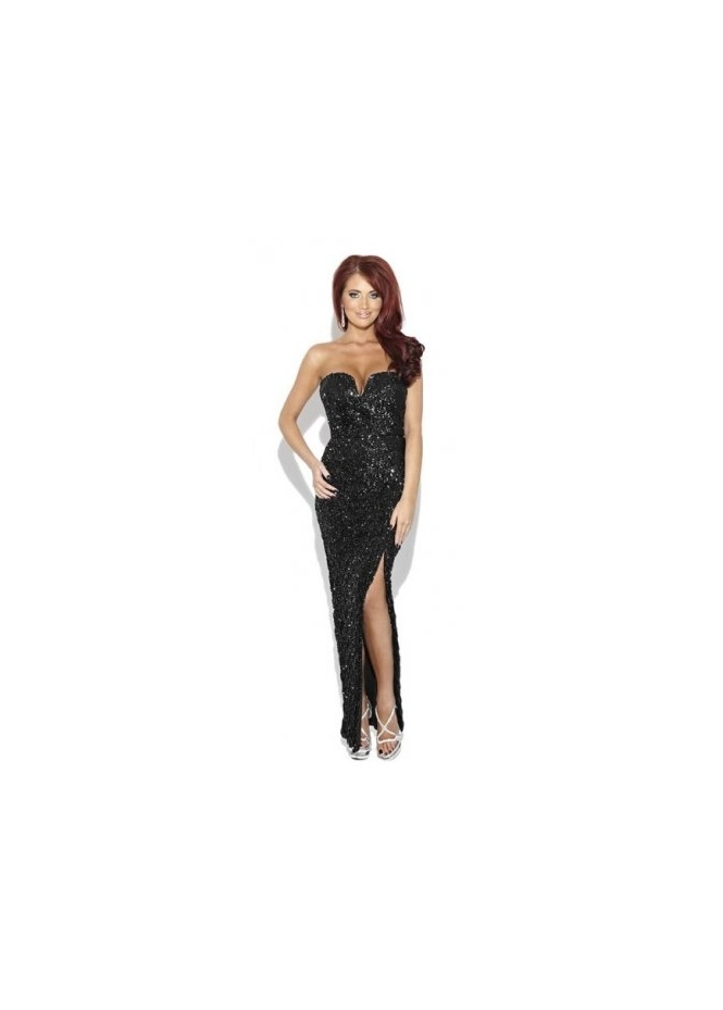Amy Childs Scarlet Dress | Amy Childs Black Sequin Maxi Dress | Amy
