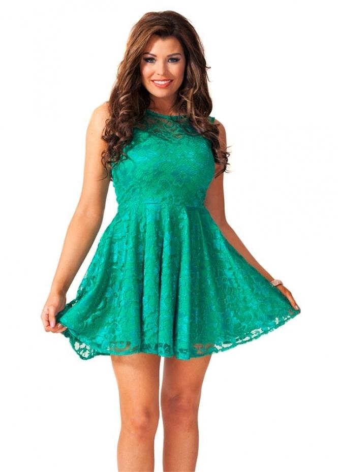 Jessica Wright Poppy Dress Jessica Wright Emerald Green