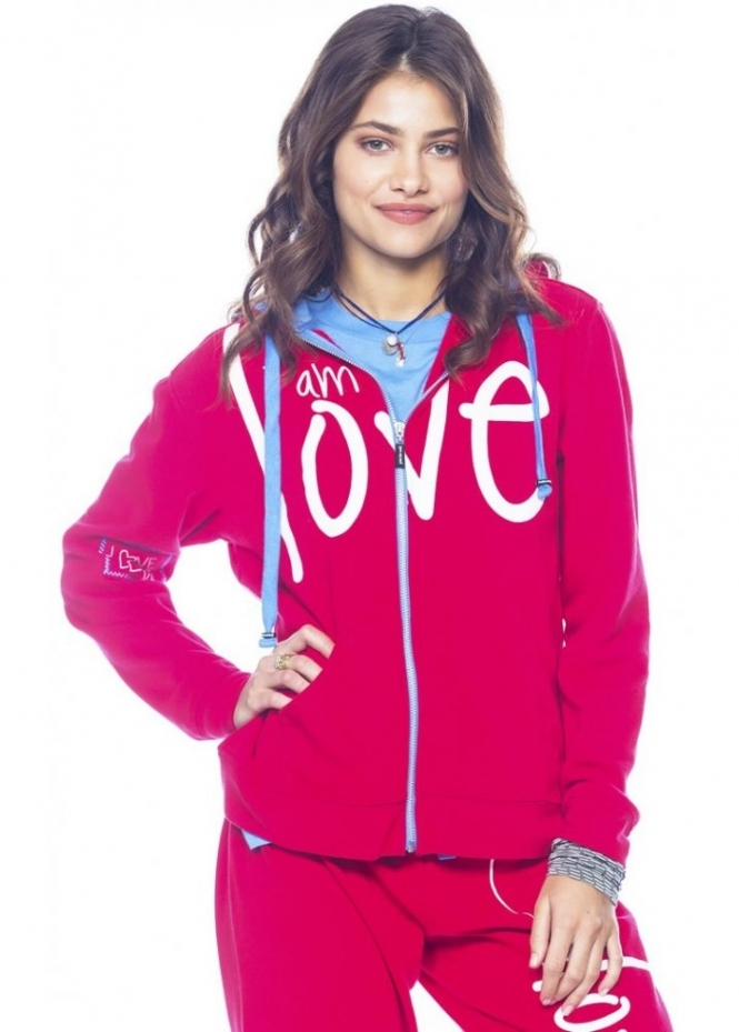 Peace Love World I Am Love Lollipop L2L Hoodie