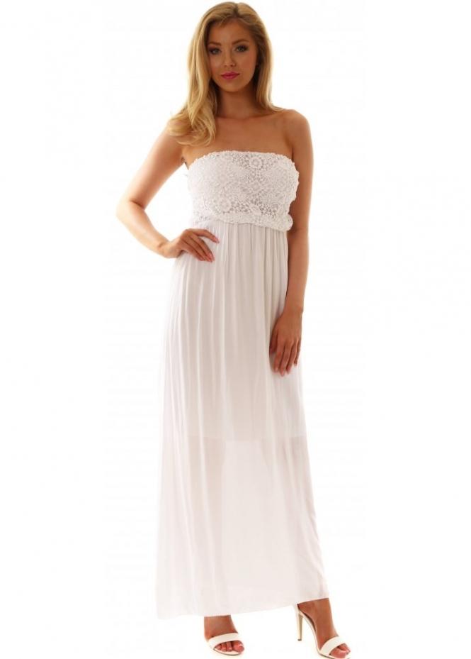 Sugar Babe Dress White Crochet Summer Beach Dress