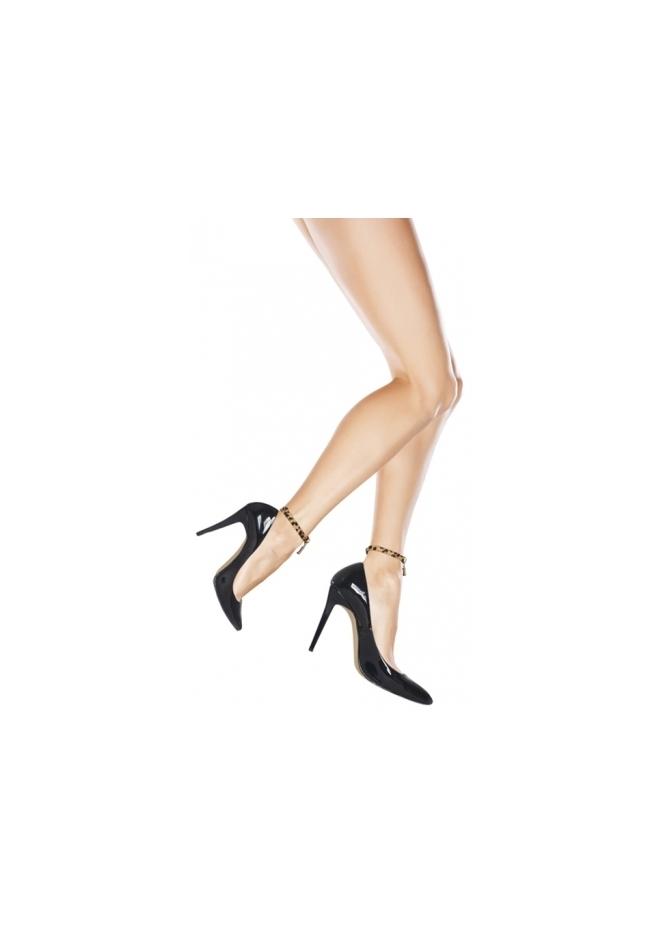 Mifani Amaretto Crisp Leopard Ankle Candy