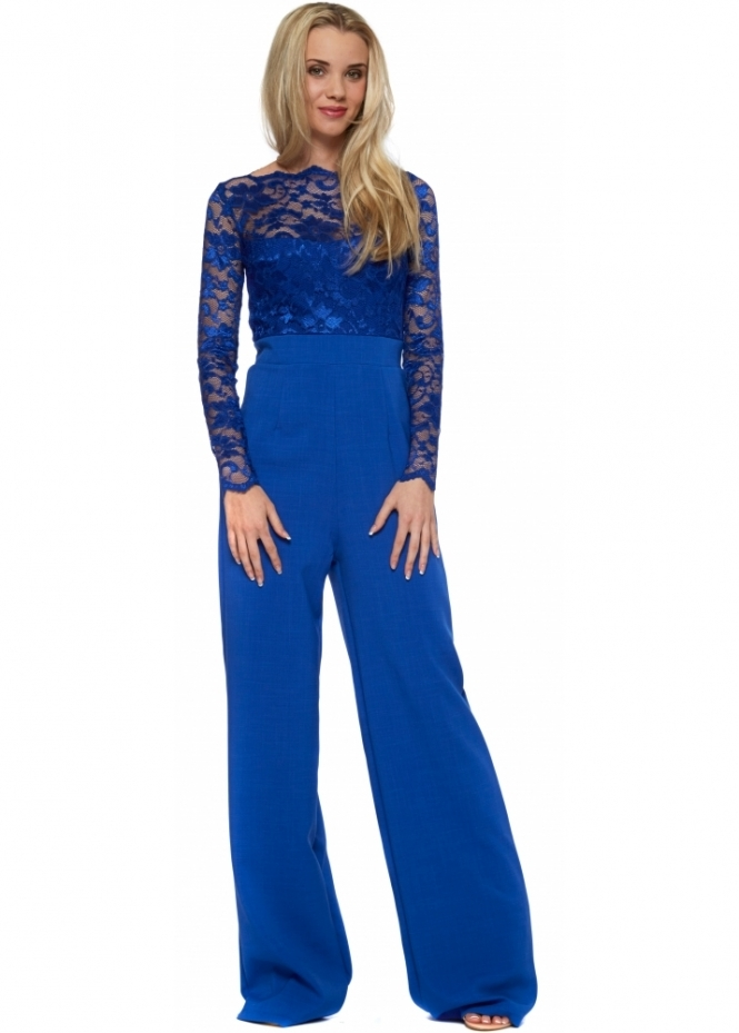 tempest billie jumpsuit in blue