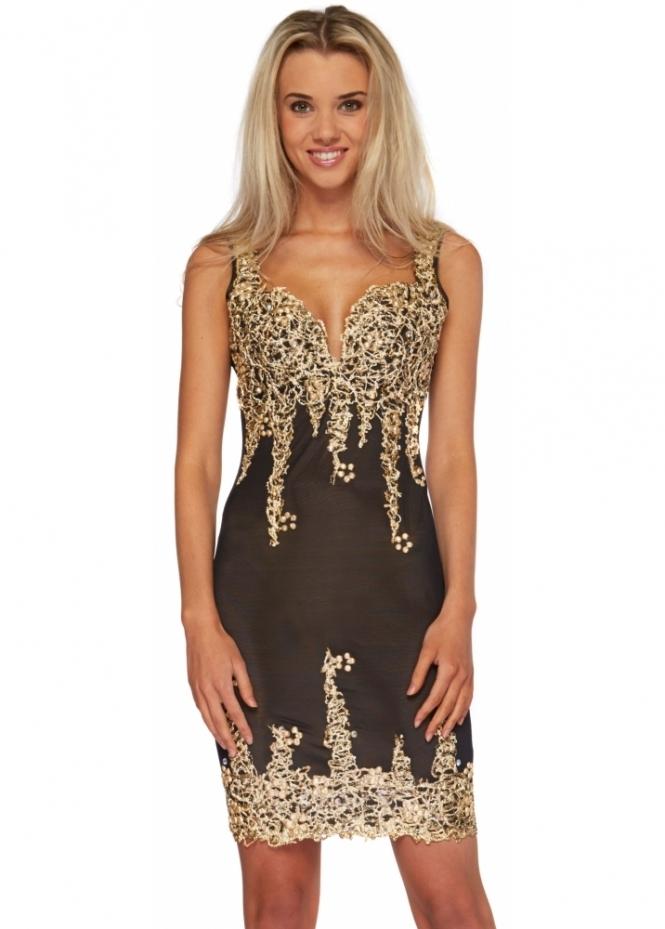 Holt Arianna Dress In Black Holt Dresses Uk Stockist