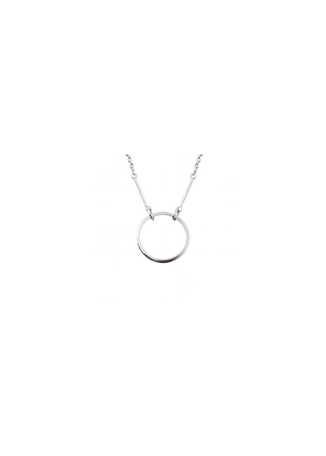 Sparkling Jewellery Kismet Karma Silver Necklace