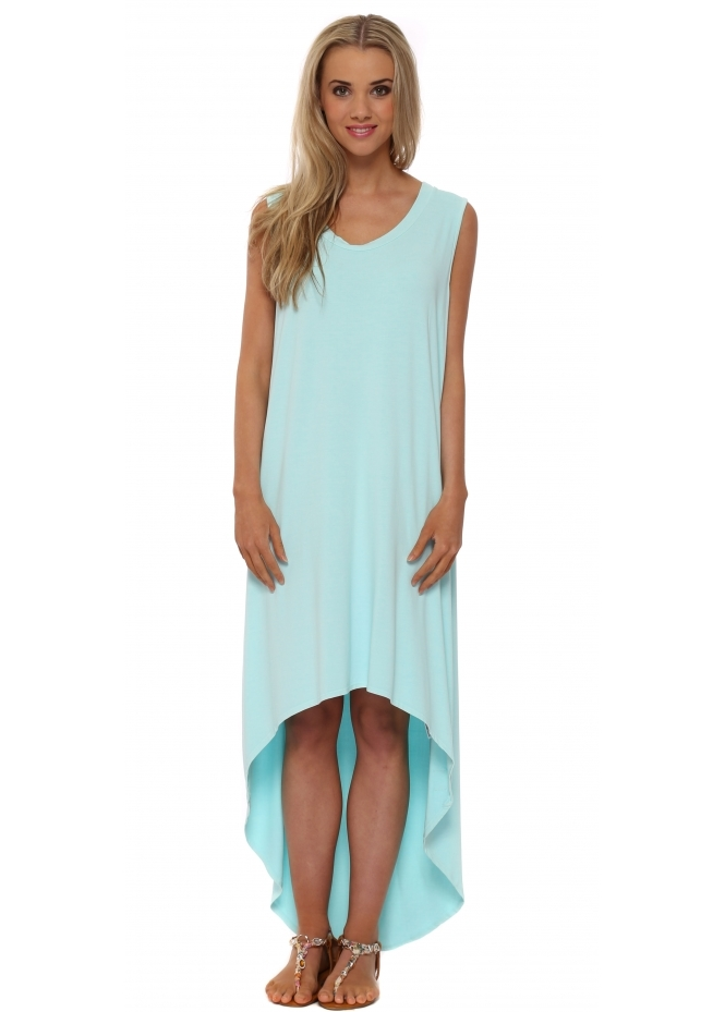 A Postcard From Brighton Dressie Aqua Tunic Dress