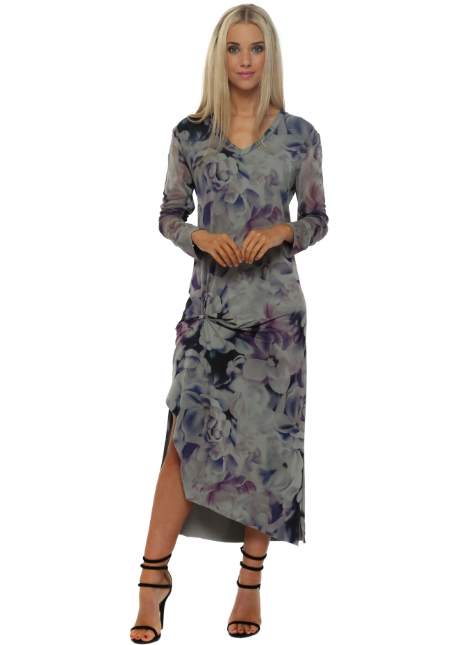 A Postcard From Brighton Fallon Flower Fest Smokey Tunic Dress