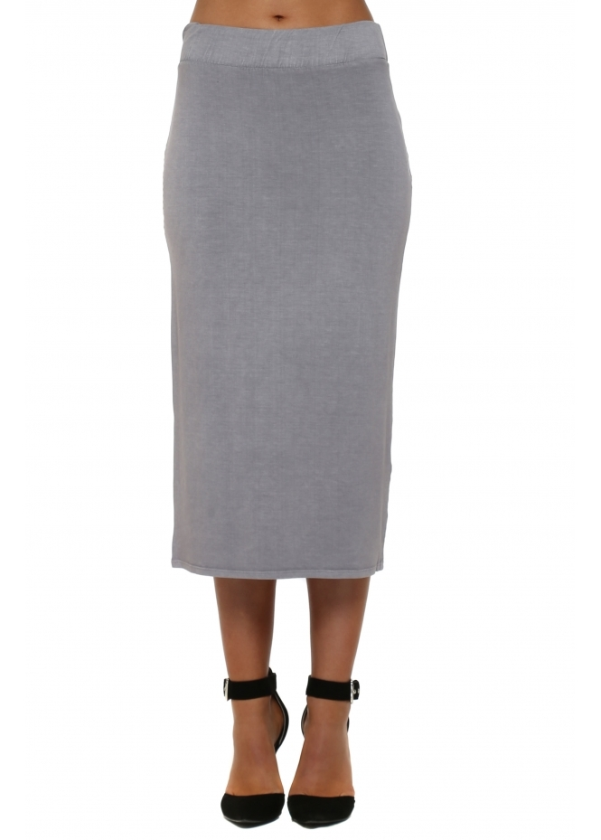 A Postcard From Brighton Mindy Pearl Jersey Midi Skirt