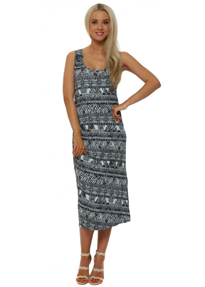 A Postcard From Brighton Bianca Mojitio Boutique Batik Midi Dress