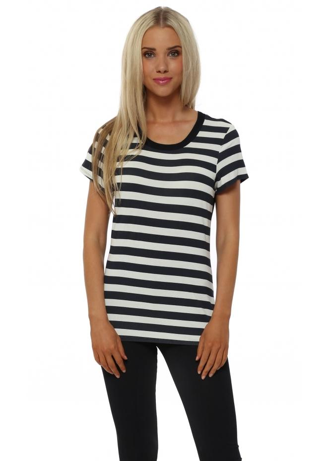 A Postcard From Brighton Sophie Foam Sea Stripe T-Shirt