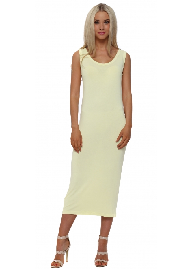 A Postcard From Brighton Nancy Lemon Dream Jersey Midi Dress