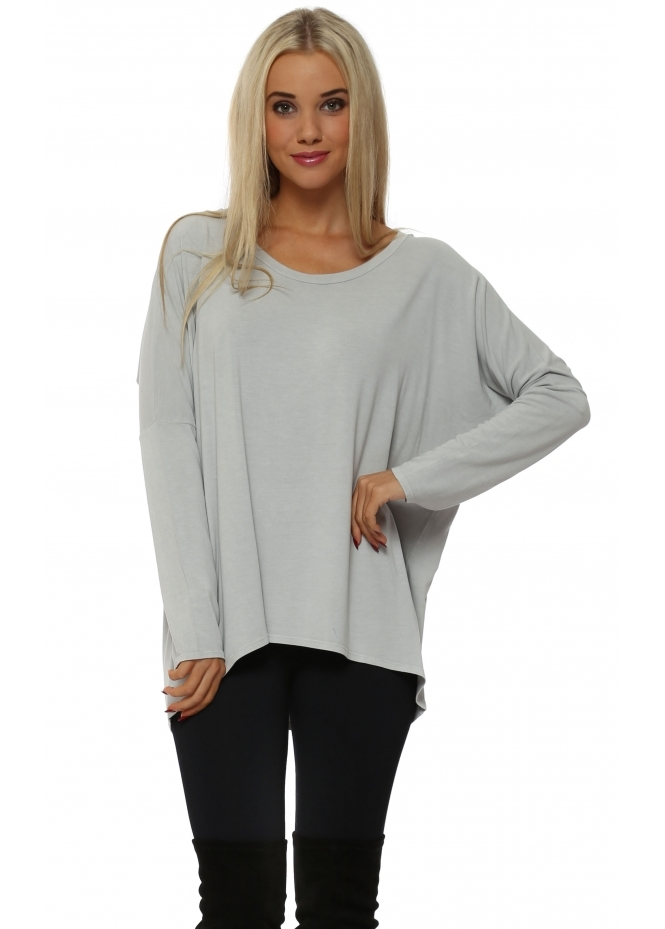 A Postcard From Brighton Kammy Putty Long Sleeved Tunic Top
