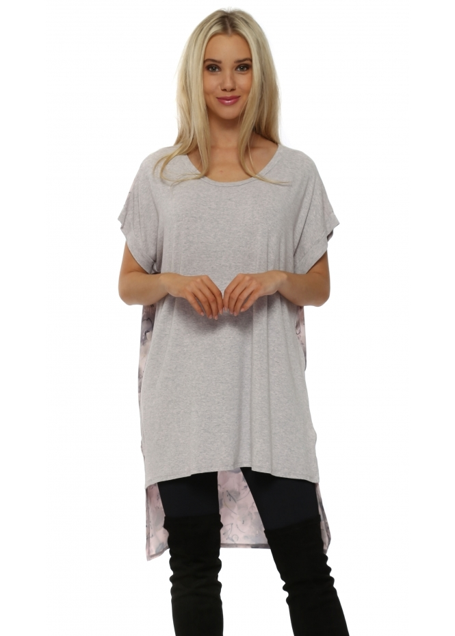 A Postcard From Brighton Tara Buff Tender Trap Melange Tunic Top