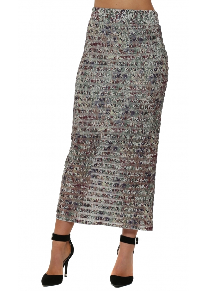 A Postcard From Brighton Layla Liberty Belle Putty Mesh Maxi Skirt