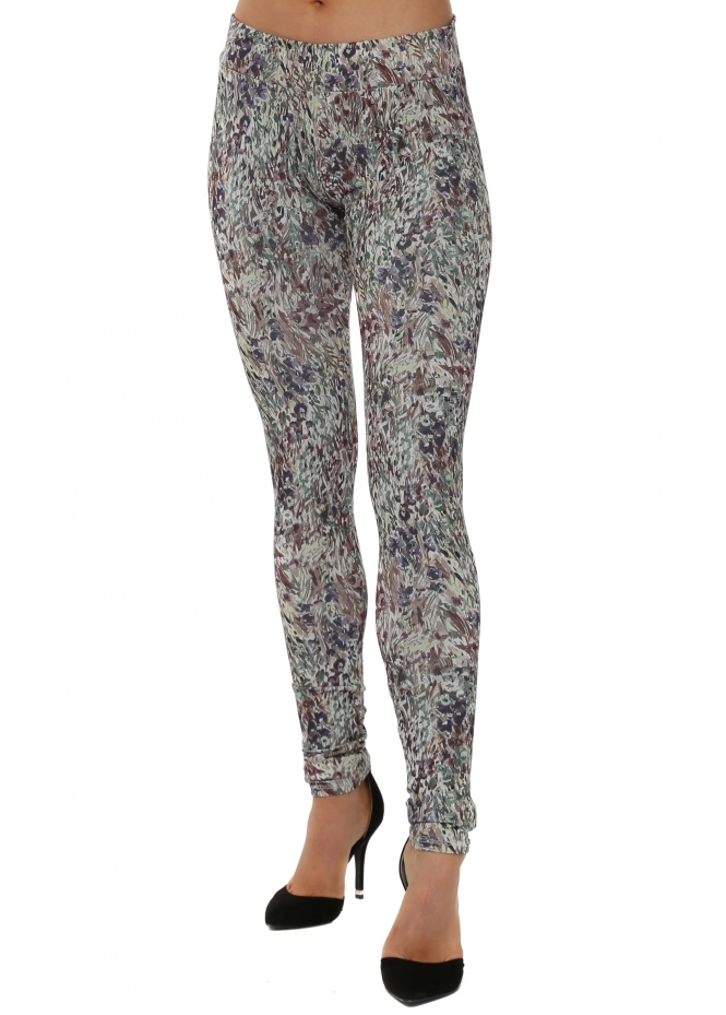 A Postcard From Brighton Laraine Liberty Belle Putty Leggings