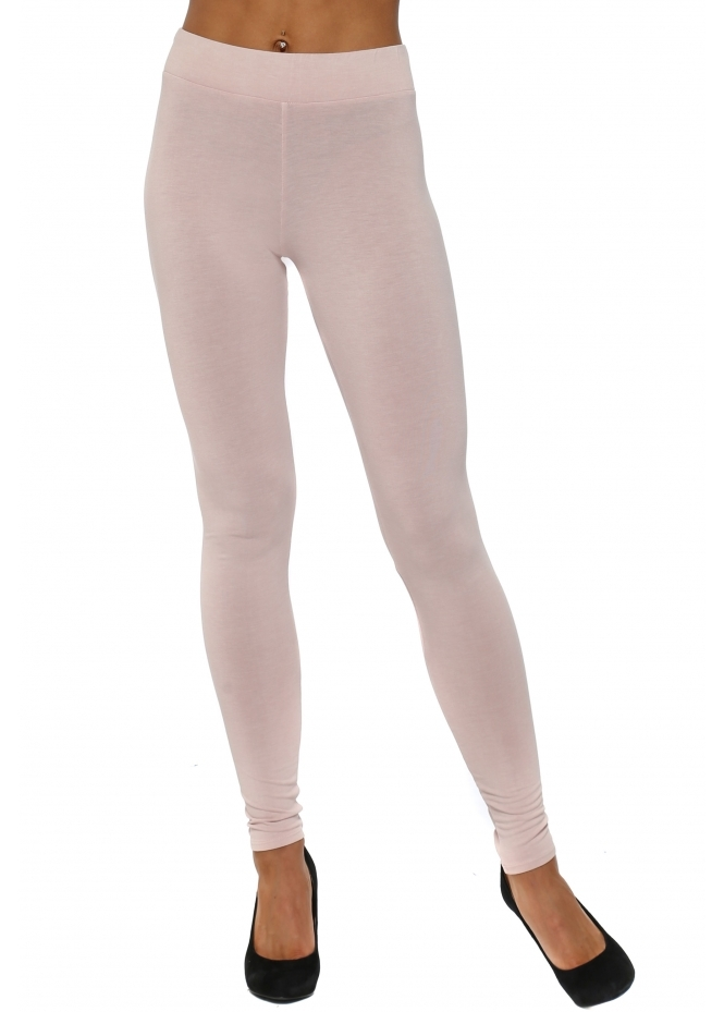 A Postcard From Brighton Anita Plain Chalk Jersey Leggings
