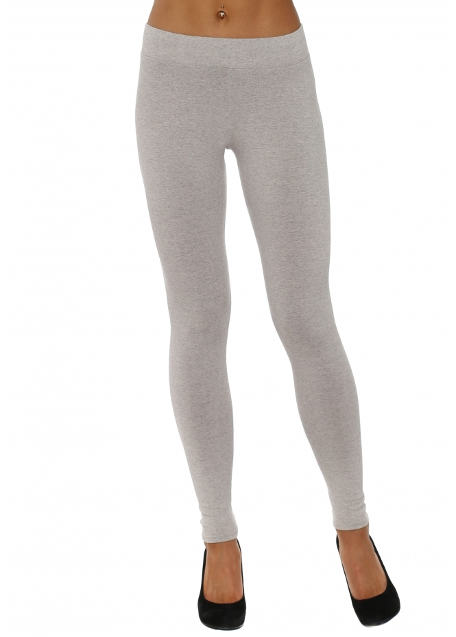 A Postcard From Brighton Anita Melange Chalk Jersey Leggings