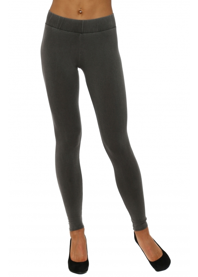 A Postcard From Brighton Anita Melange Bark Jersey Leggings