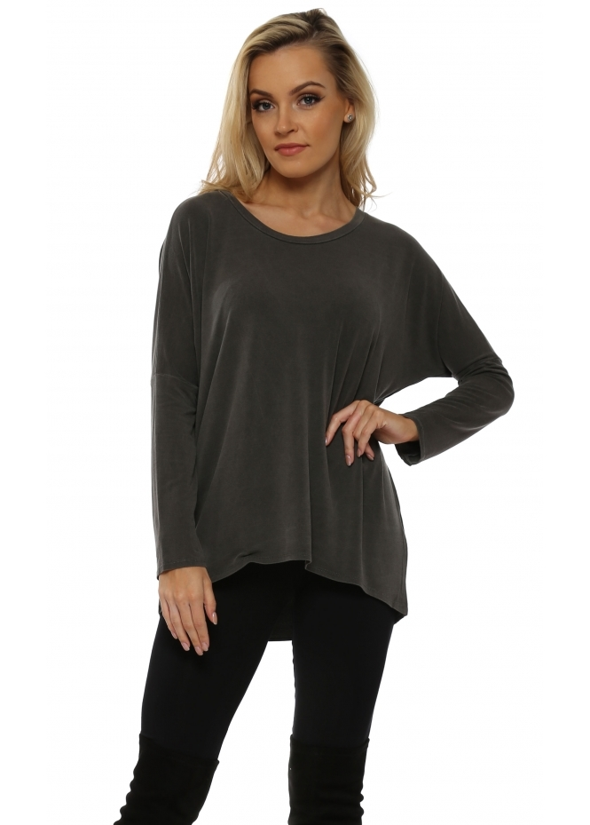 A Postcard From Brighton Kammy Bark Long Sleeved Tunic Top