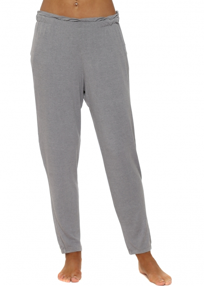 A Postcard From Brighton Frillers Gull Melange Loose Fit Relaxed Trousers