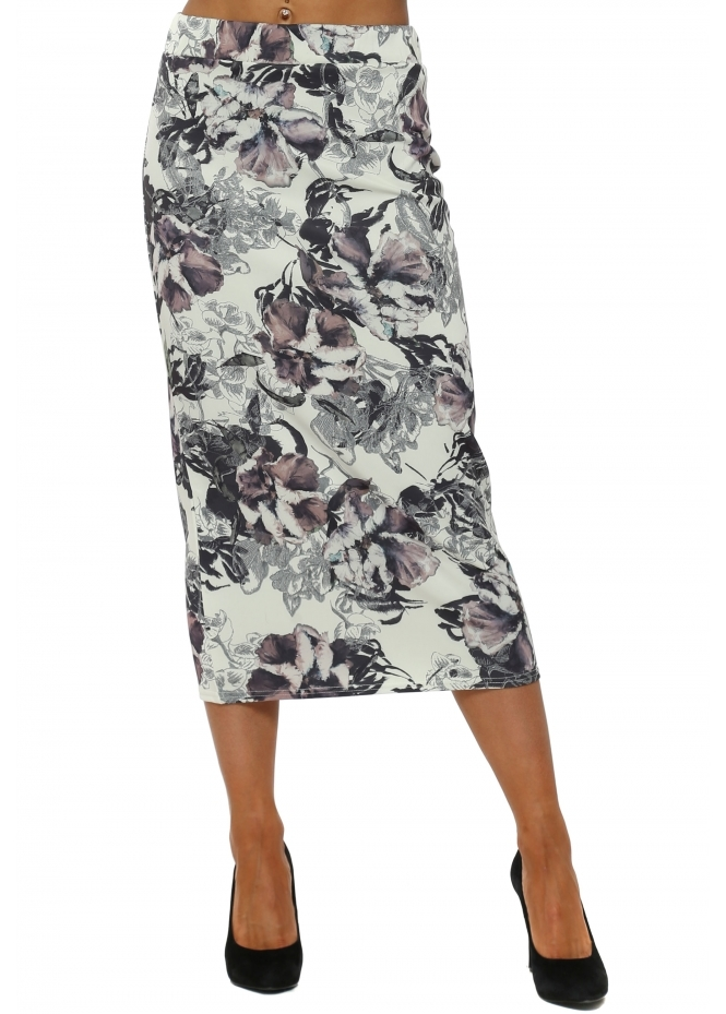 A Postcard From Brighton Dora Bone Dark Romance Midi Skirt
