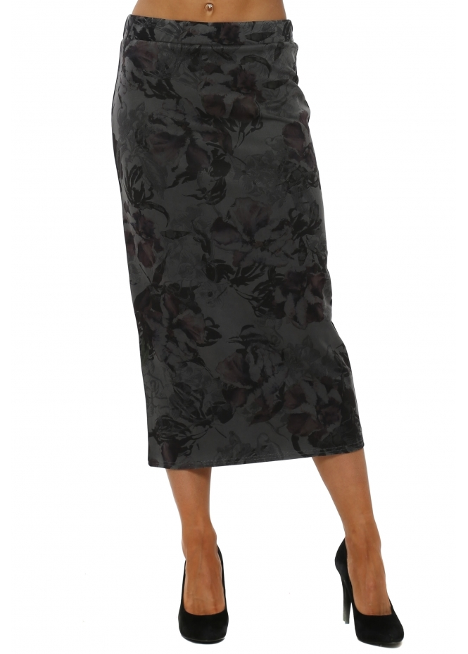 A Postcard From Brighton Dora Thunder Dark Romance Midi Skirt