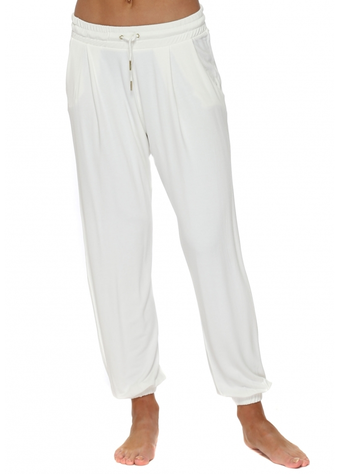 A Postcard From Brighton Valerie Vanilla Jogger Pants