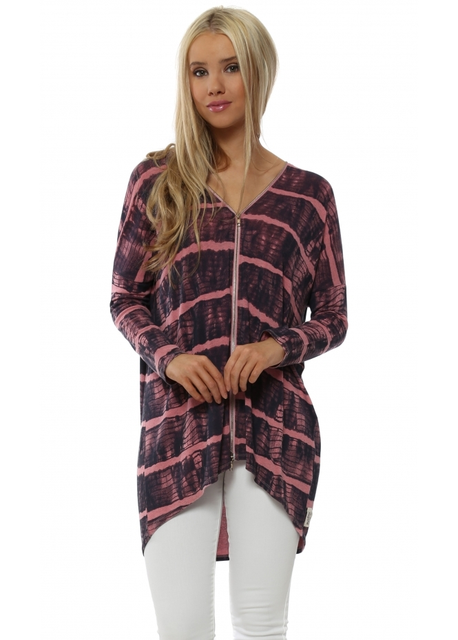 A Postcard From Brighton India Ibiza Tie Dye Ibiza Sunrise Double Zip Top