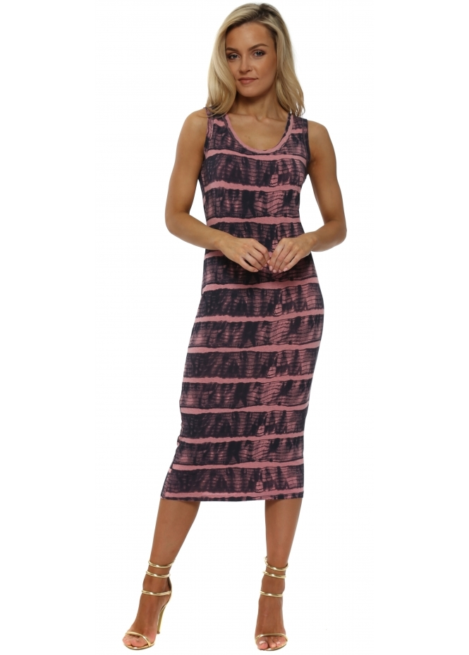 A Postcard From Brighton Ivy Ibiza Tie Dye Ibiza Sunrise Midi Dress