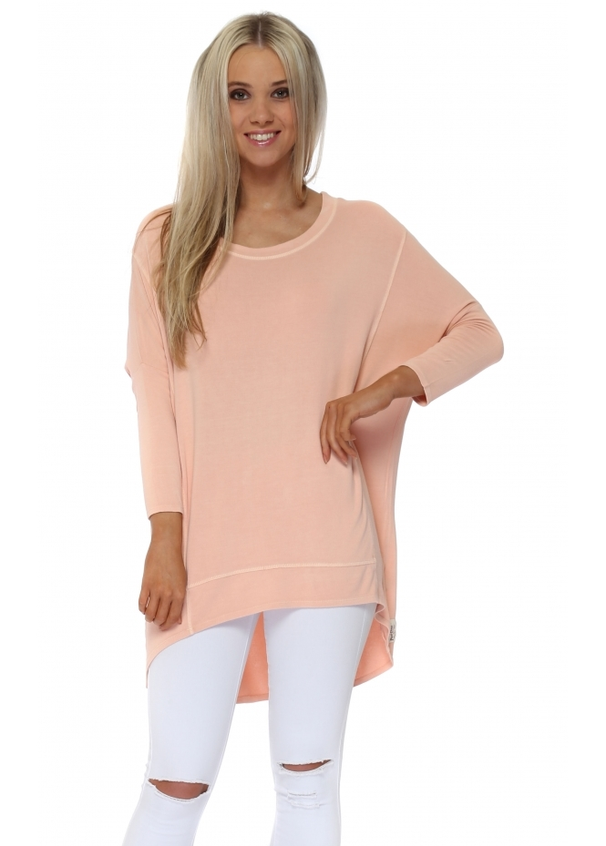 A Postcard From Brighton Seduction Florrie Dip Hem Slouch Top