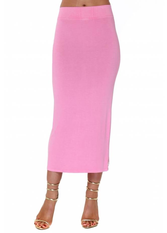 A Postcard From Brighton Mindy Passionata Jersey Midi Skirt