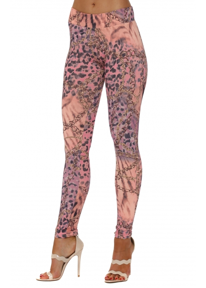 A Postcard From Brighton Willow Wild Bling Leggings In Seduction