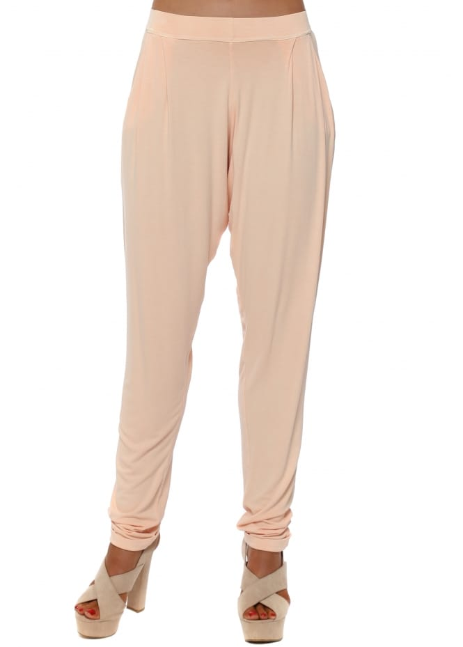 A Postcard From Brighton Chillings Loose Fit Pants In Peach Ice