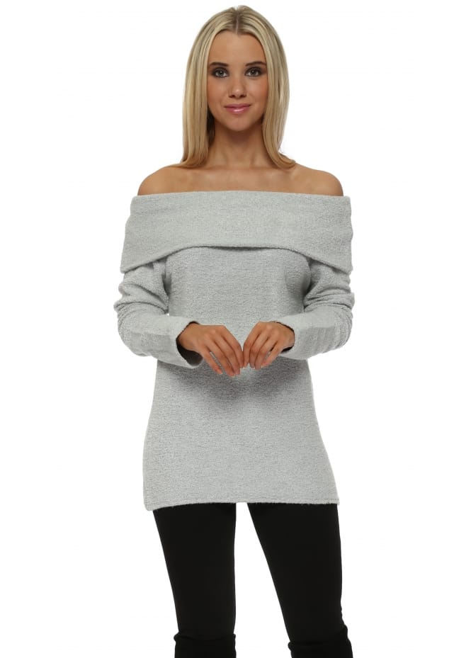 A Postcard From Brighton Cassandra Vanilla Ice Off The Shoulder Coodle Top