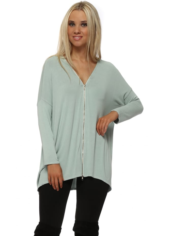 A Postcard From Brighton Flick Winter Sea Double Ended Zip Top