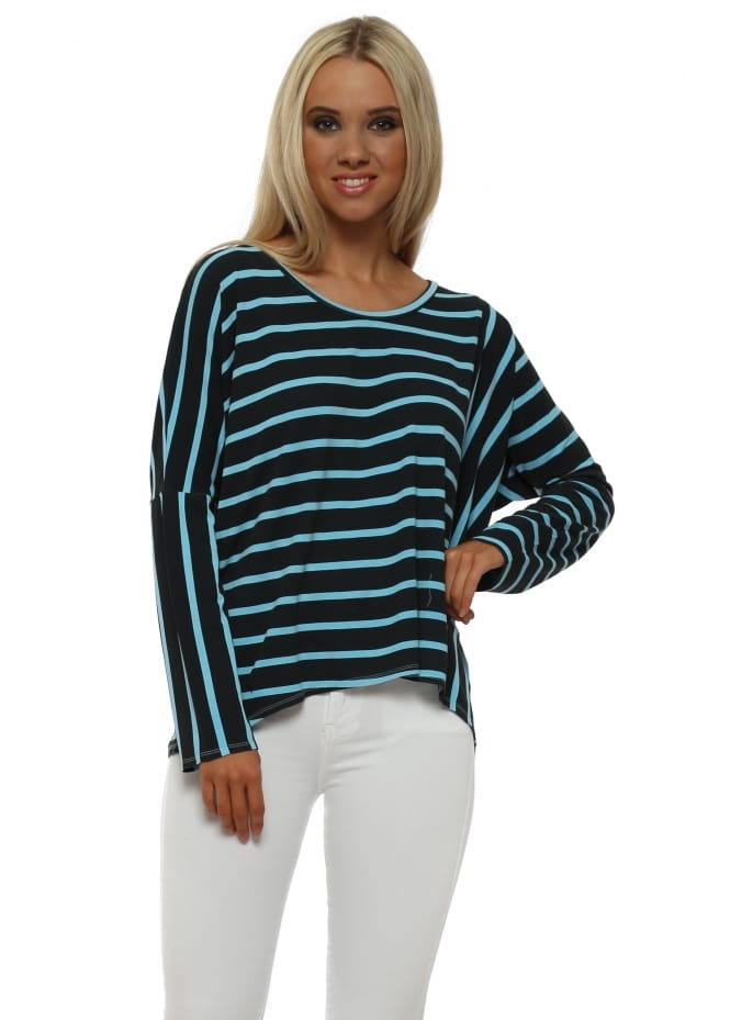 A Postcard From Brighton Bea Sky Brighton Stripe Karma Top