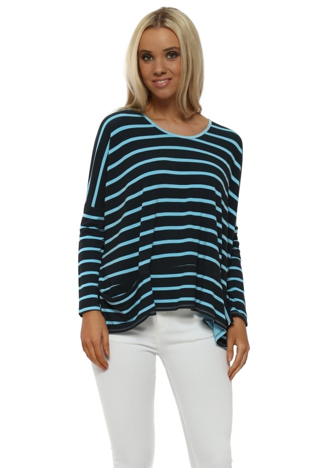A Postcard From Brighton Becky Sky Brighton Stripe Pammy Top