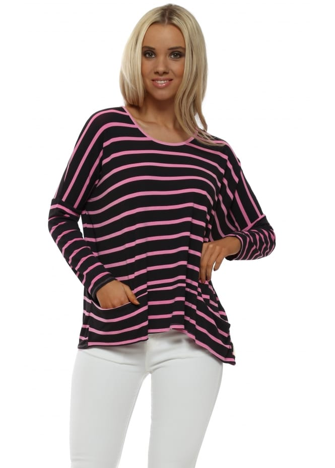 A Postcard From Brighton Becky Pinkest Brighton Stripe Pammy Top