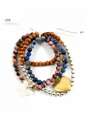 AndyANDmolly Bracelet &amp; Necklace Chameleon Elle
