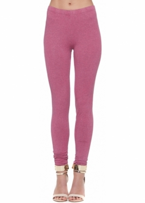 A Postcard From Brighton Elsa Passion Pink Melange Leggings