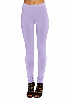 A Postcard From Brighton Violet Mist Stretch Fit Jersey Leggings